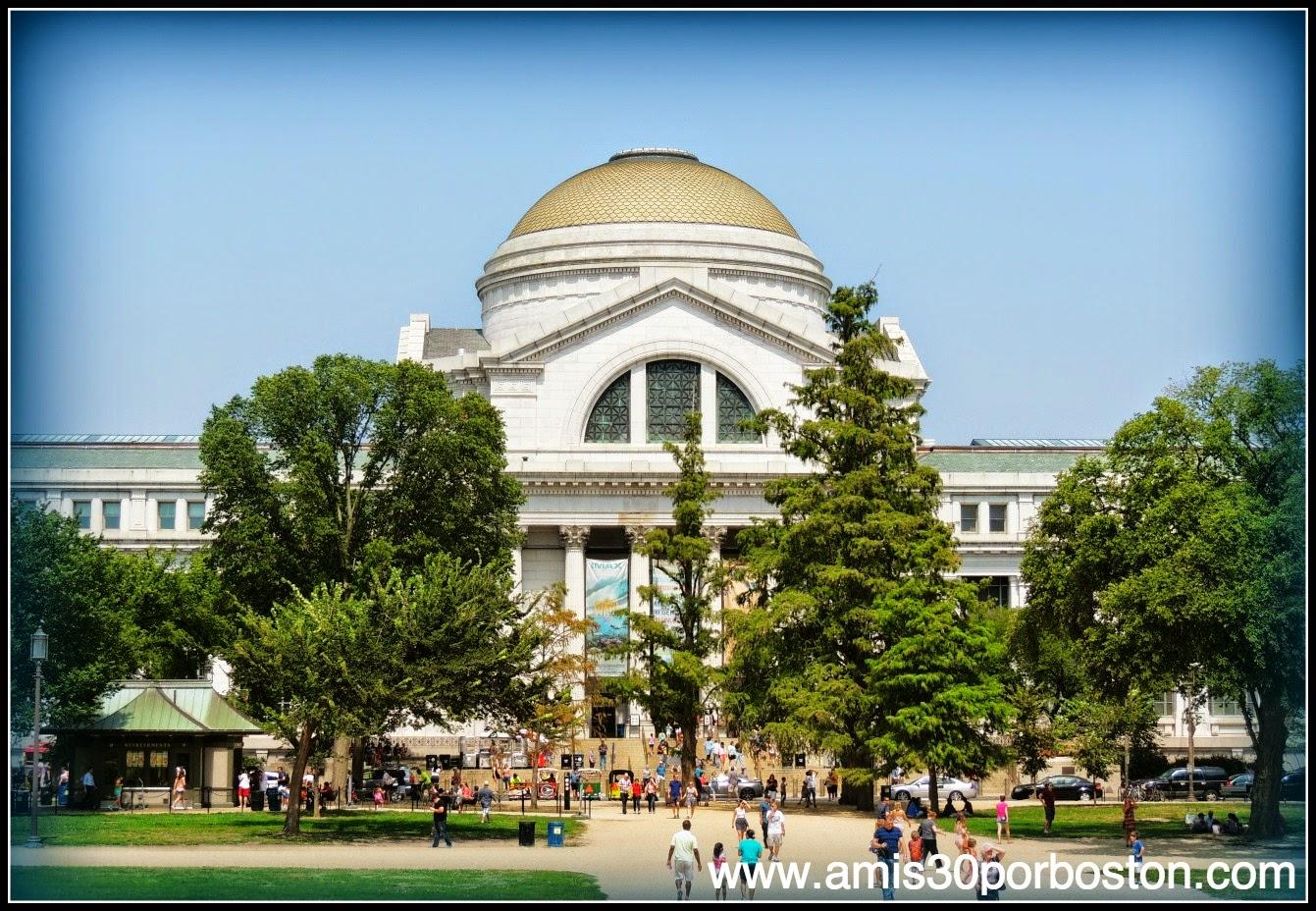 Museo Nacional de Historia Natural en el National Mall de Washington D.C.