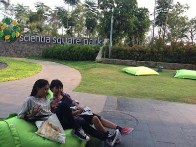 Scientia Square Park Tangerang - Taman Asyik di Gading Serpong