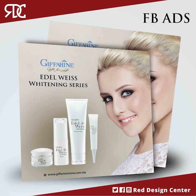 Iklan Produk Kecantikan Whitening Series - Facebook Ads