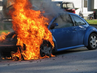 Tips to Apply When Your Car Is On Fire - FRSC