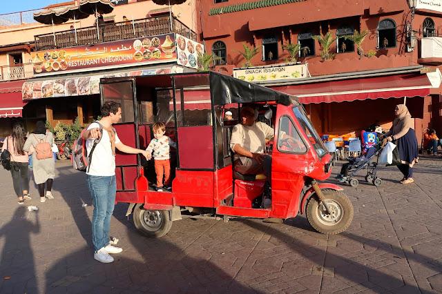plaza Jeema el Fna Marrakech a golpe de objetivo
