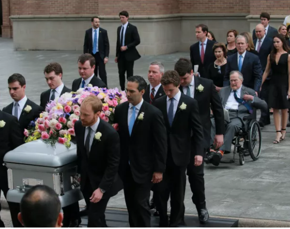 Photos from the funeral of former US first lady, Barbara Bush