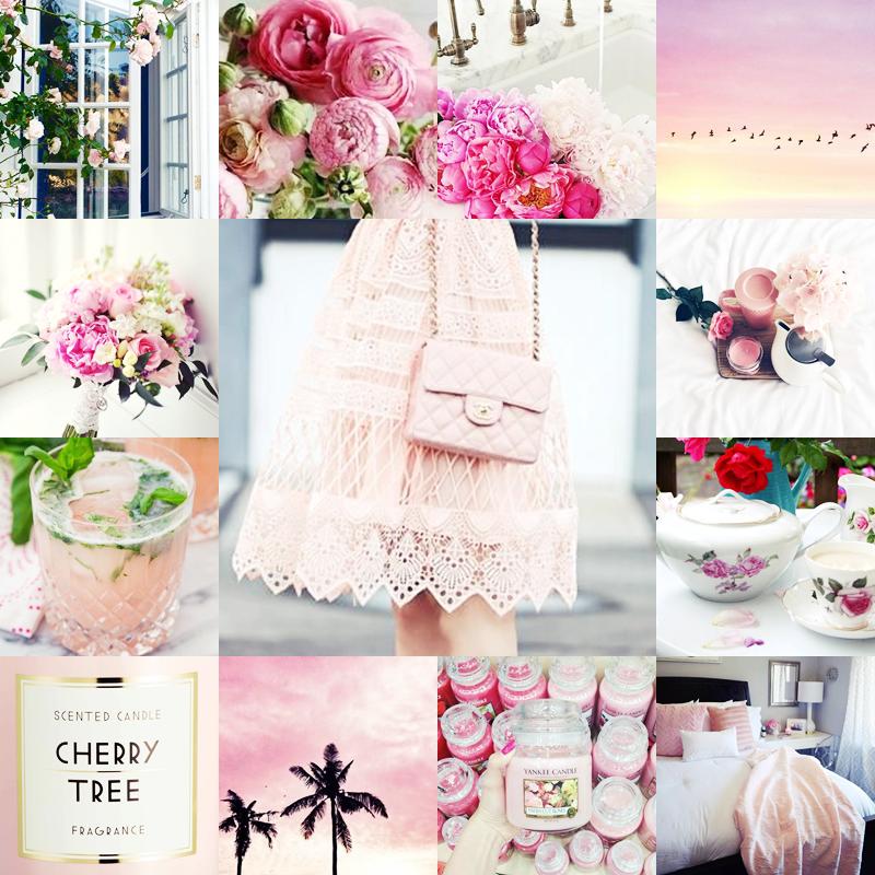 różowe wiosenne inspiracje