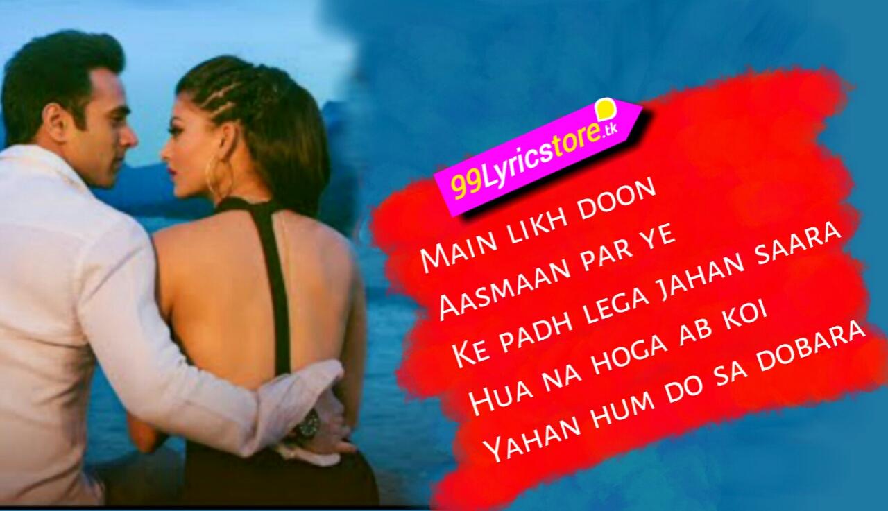 Sanam re movie Song Lyrics, Hindi Bollywood Song Lyrics, Armaan Malik Song Lyrics, Amaal Malik Song Lyrics,
