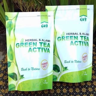 harga green tea activa