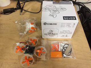 Eachine E010s FPV Drone