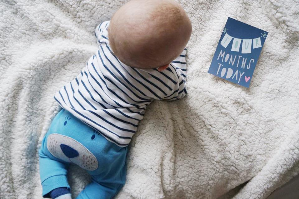 Rory is Four Months Old! | Baby Four Month Update