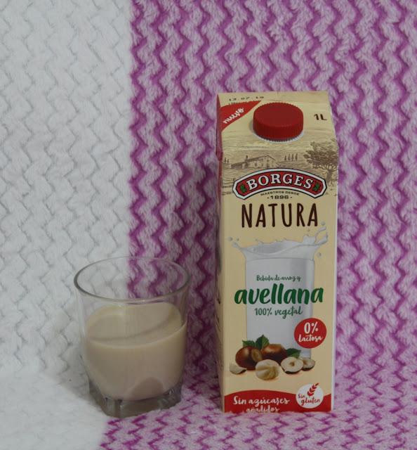Borges bebida vegetal de avellanas