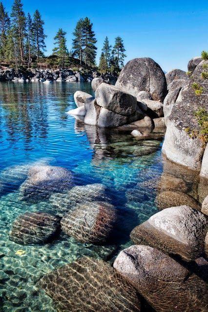 Crystal Clear Water at Lake Tahoe