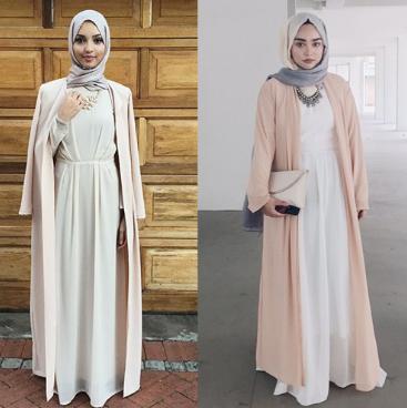 4 Model Baju Gamis Yang Trend