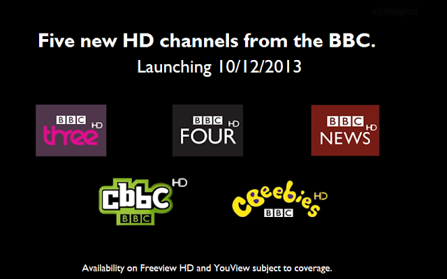 BBC HD Channels
