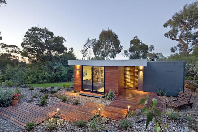 Contoh gambar rumah minimalis modern dalam gaya dan biaya murah