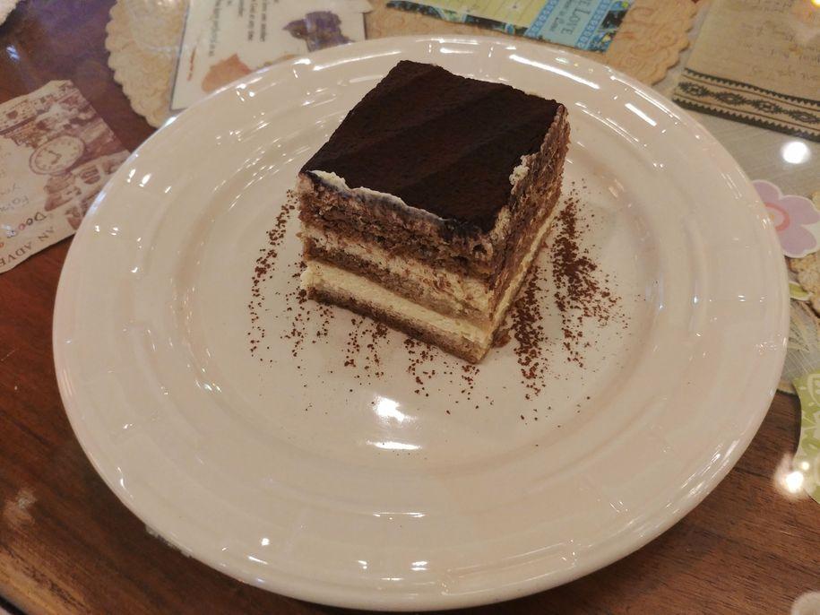 Dessert at Café Mary Grace
