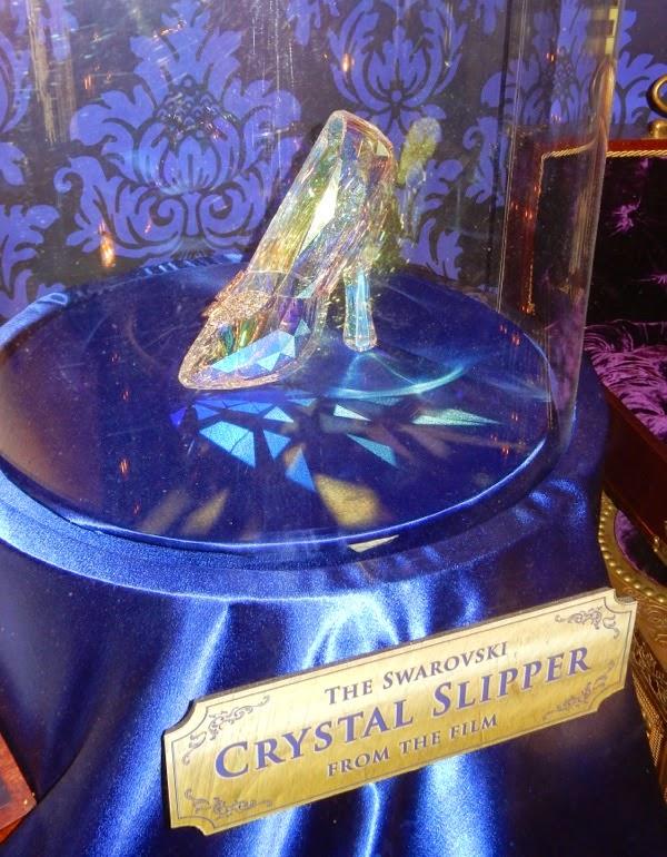 Cinderella Swarovski crystal slipper