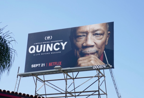 Quincy Netflix documentary billboard