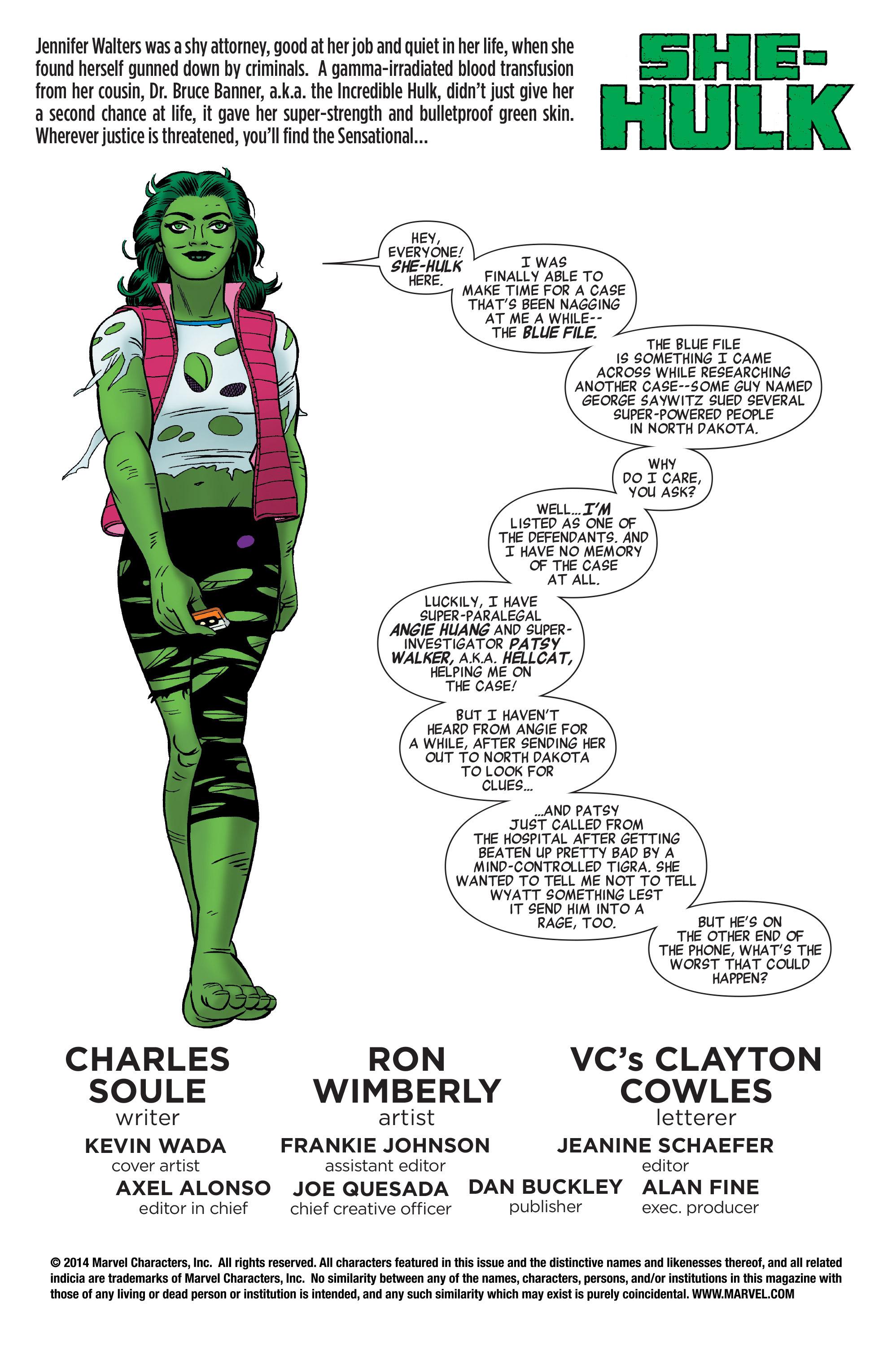 Read online She-Hulk (2014) comic -  Issue #6 - 2