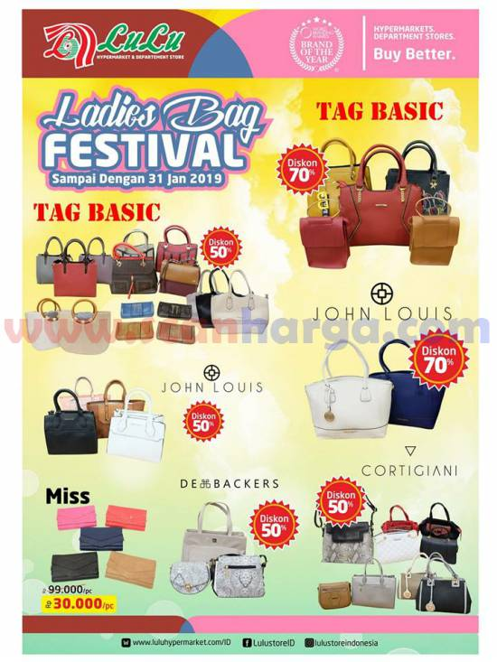Promo Lulu Ladies Bag Festival 2019