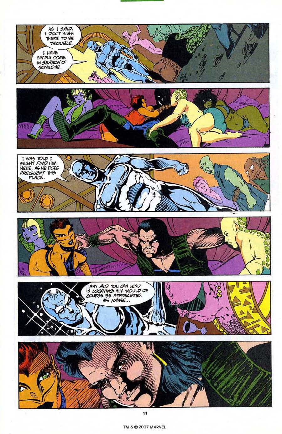 Read online Silver Surfer (1987) comic -  Issue #89 - 13