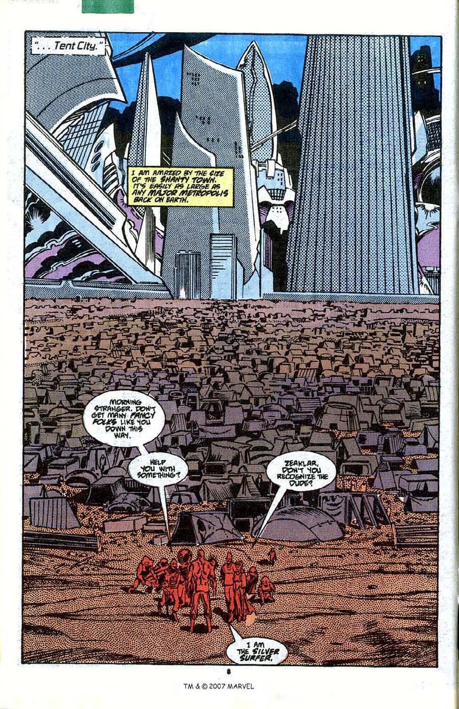Read online Silver Surfer (1987) comic -  Issue #41 - 10