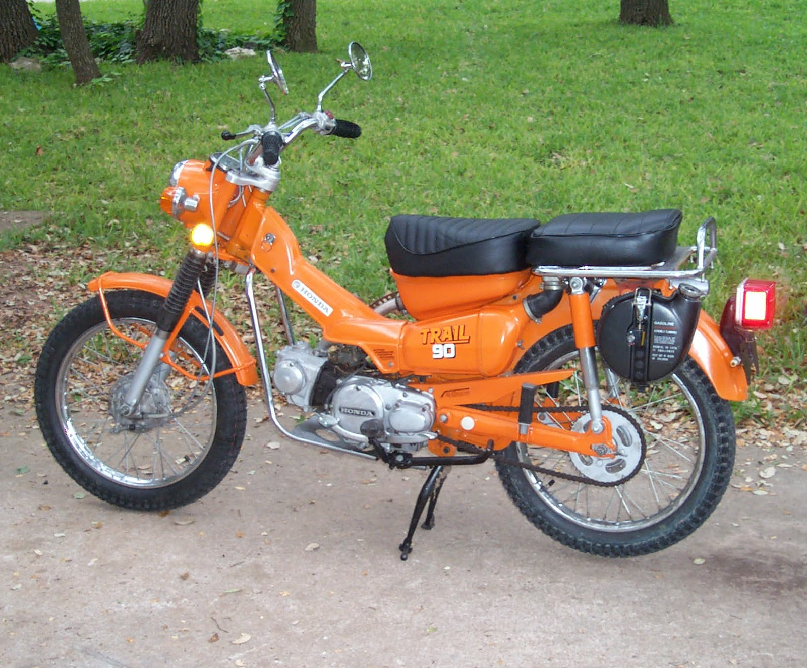 Honda CT90 Motorcycle Wiring Diagram | All about Wiring Diagrams