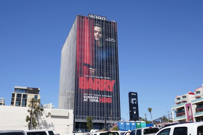 Giant Barry season 2 billboard