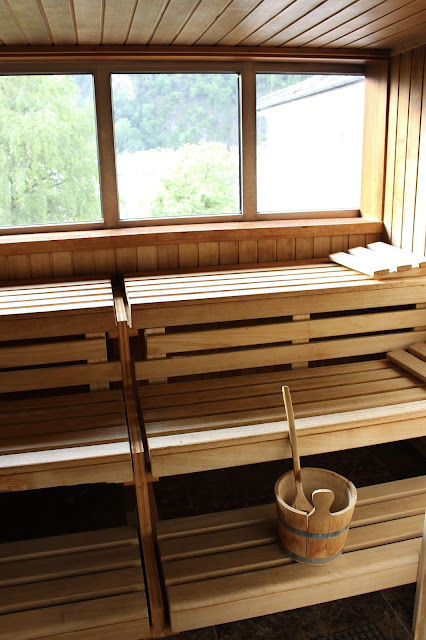 Sauna im Hotel Auersperg in Salzburg. #sbgatc16
