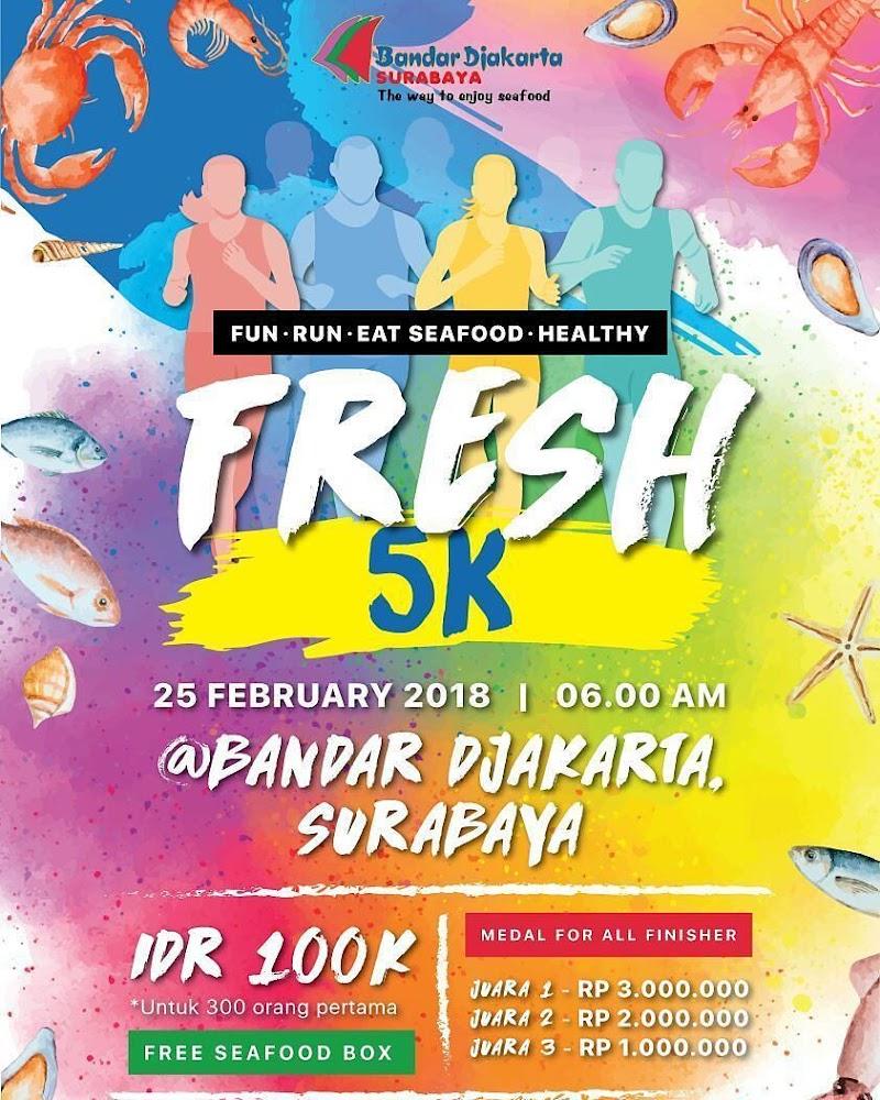Bandar Djakarta Surabaya Fun Run • 2018