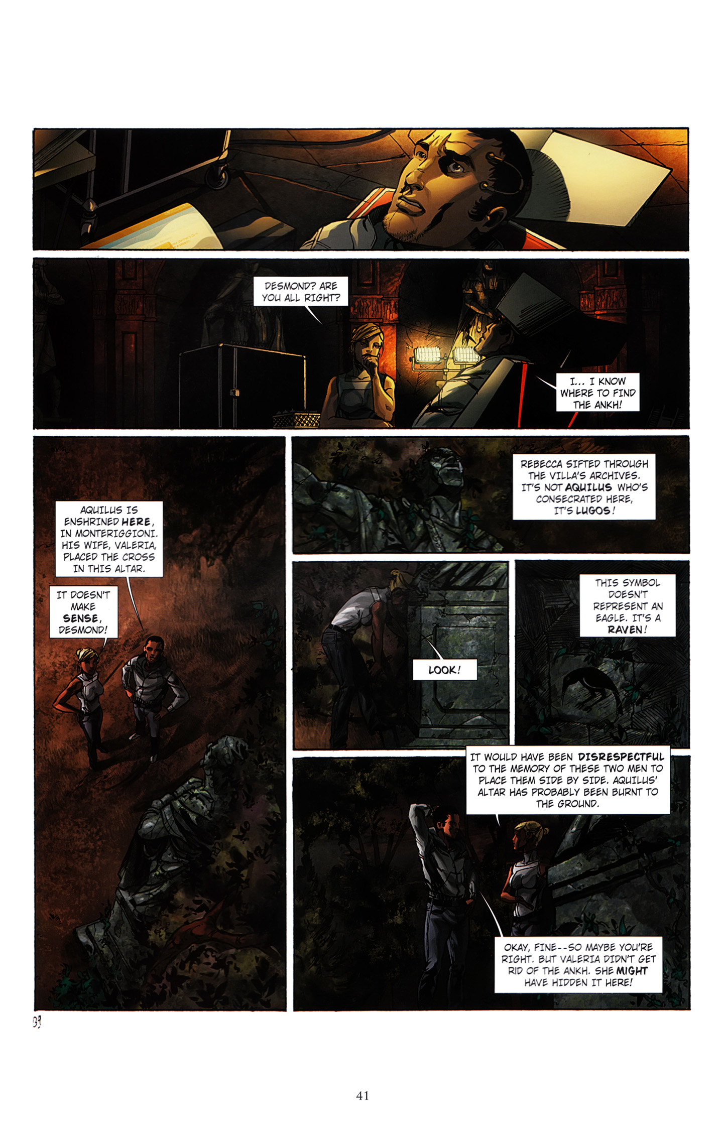 Read online Assassin's Creed (2012) comic -  Issue #3 - 45
