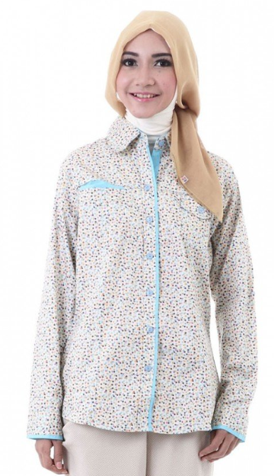Trend Model Baju Hamil Muslim Atasan Modern