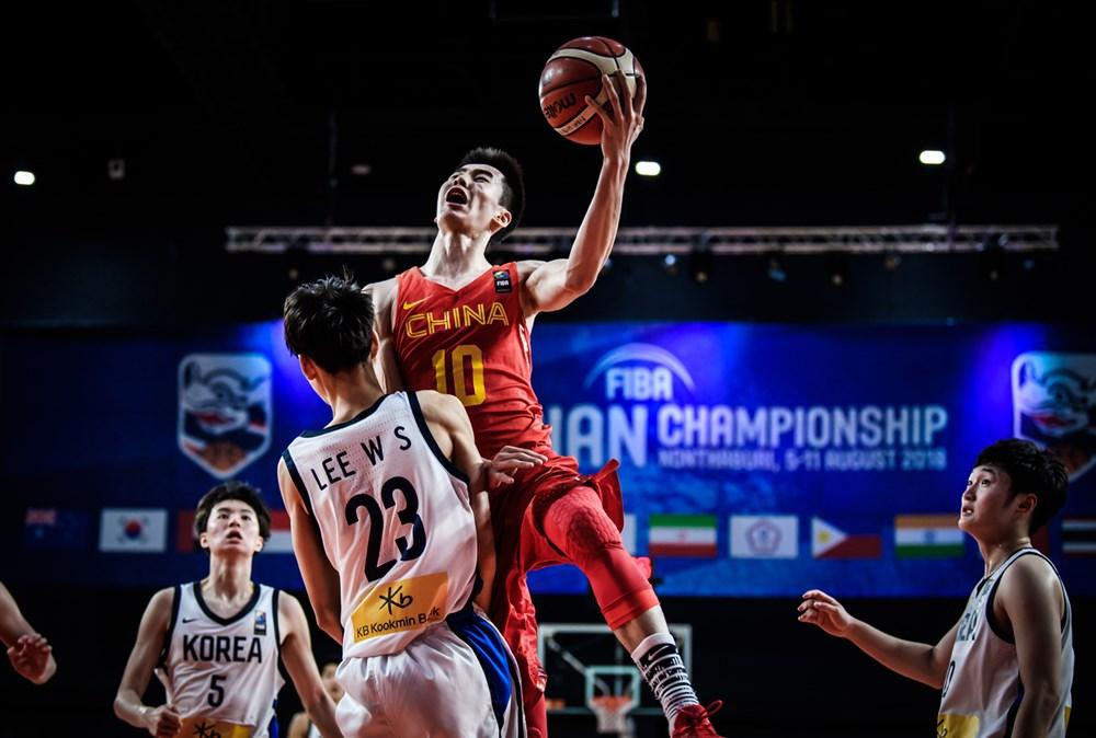 a3c931623399 Guo Haowen was relentless in attacking the basket against Korea.
