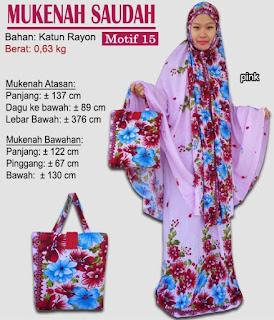 Grosir Mukenah Bali cantik -saudah motif 15