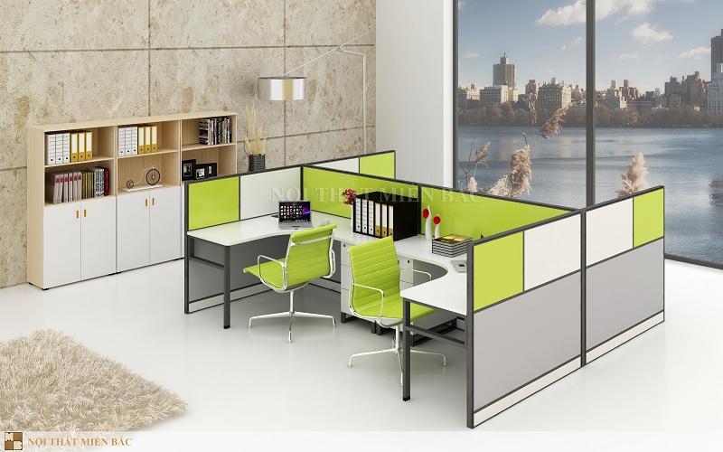 Thiết kế nội thất phòng làm việc tại Hà Nội tạo không gian mới mẻ