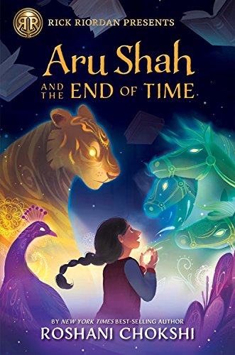 Aru Shah ant the end of time cover