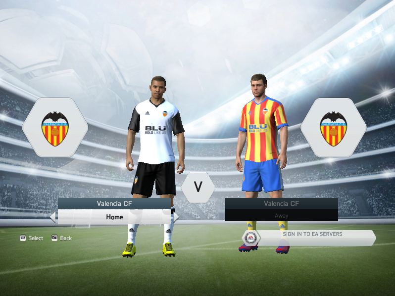 c9343a913de Valencia CF 2017/18 Kit Pack For FIFA 14/15 ~ Fifa Modders