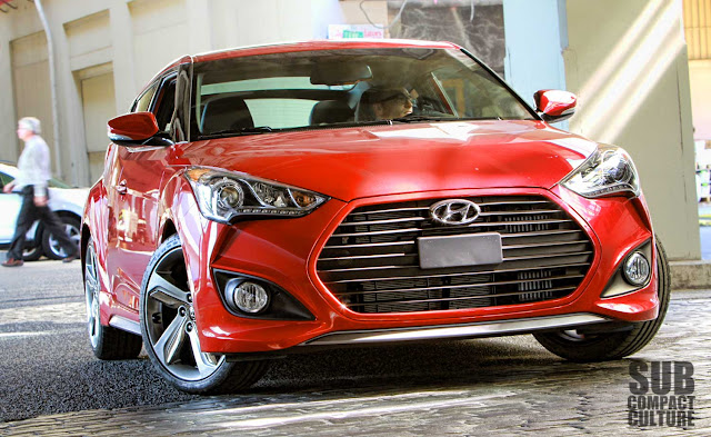 Driving the 2013 Hyundai Veloster Turbo