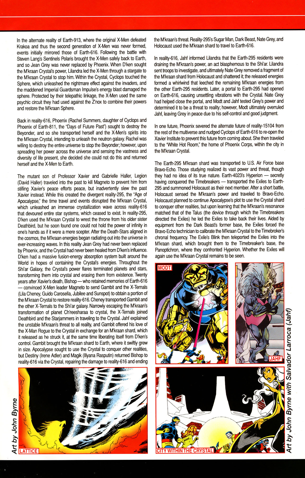 Read online All-New Official Handbook of the Marvel Universe A to Z: Update comic -  Issue #1 - 34