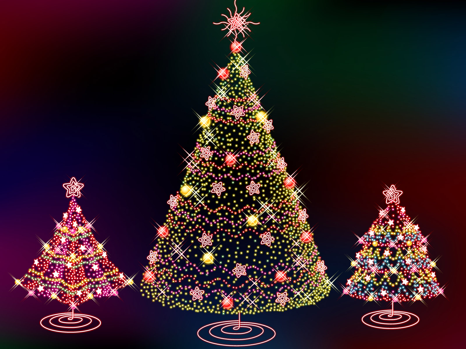 Christmas lights desktop Wallpapers HD photo images 9