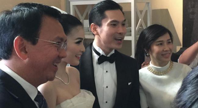 Wah...!!! Ahok Jadi Tamu Undangan di Pernikahan Sandra Dewi