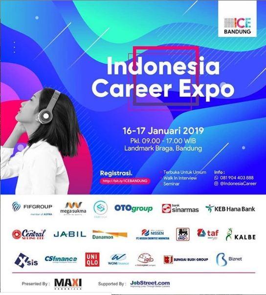 Job Fair di Kota Bandung