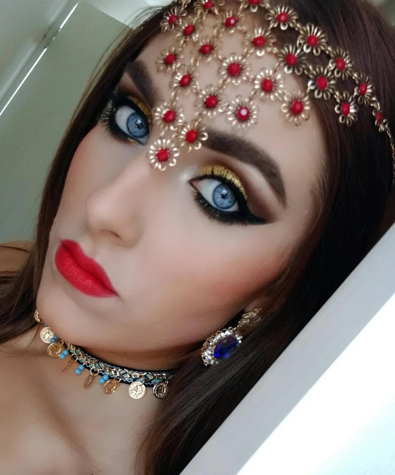 Lipstick in London: Arabic Make-up