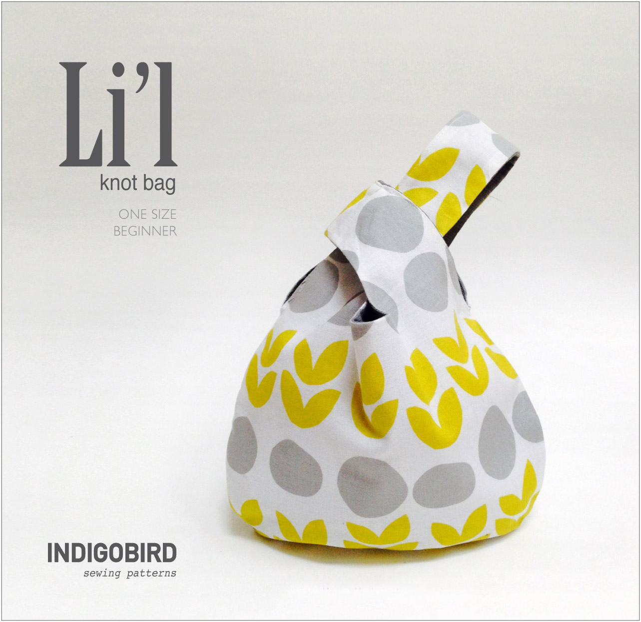 Li'l Reversible Knot Bag Pattern