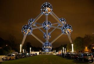 Atomium, Brussel, Belgia