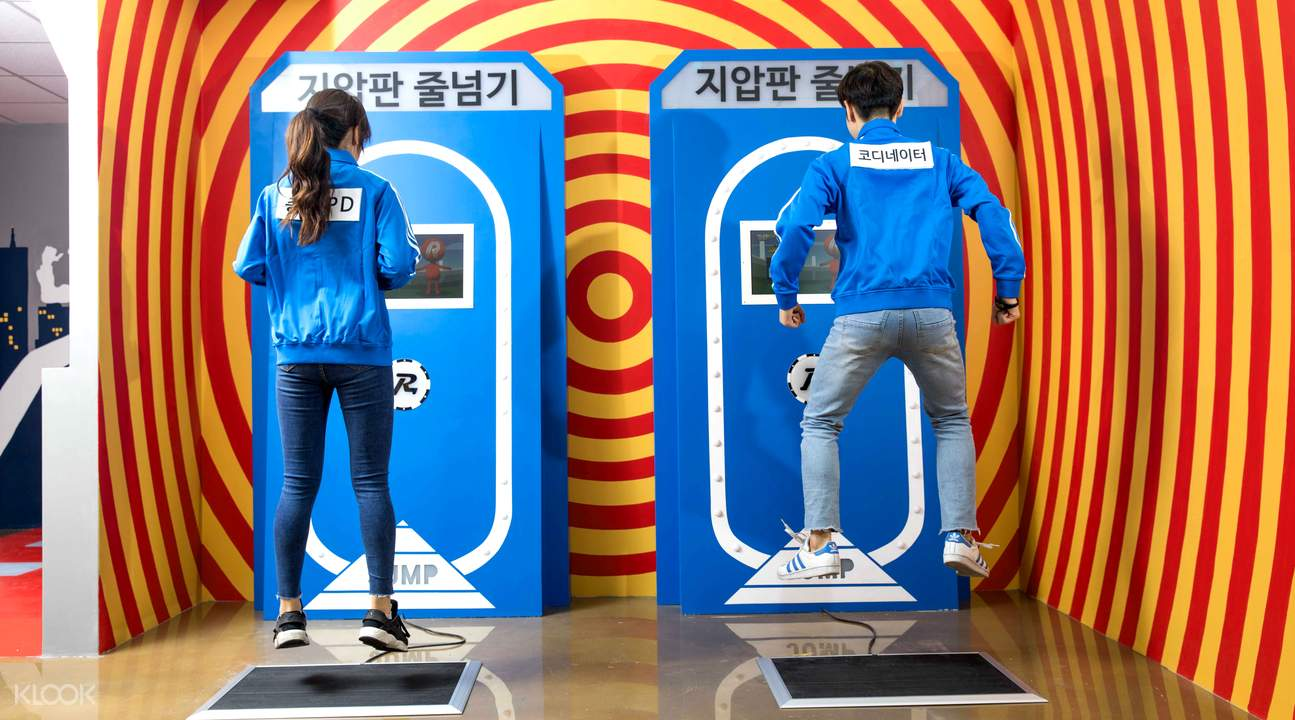 Good girl go travel: Running Man Thematic Experience Center