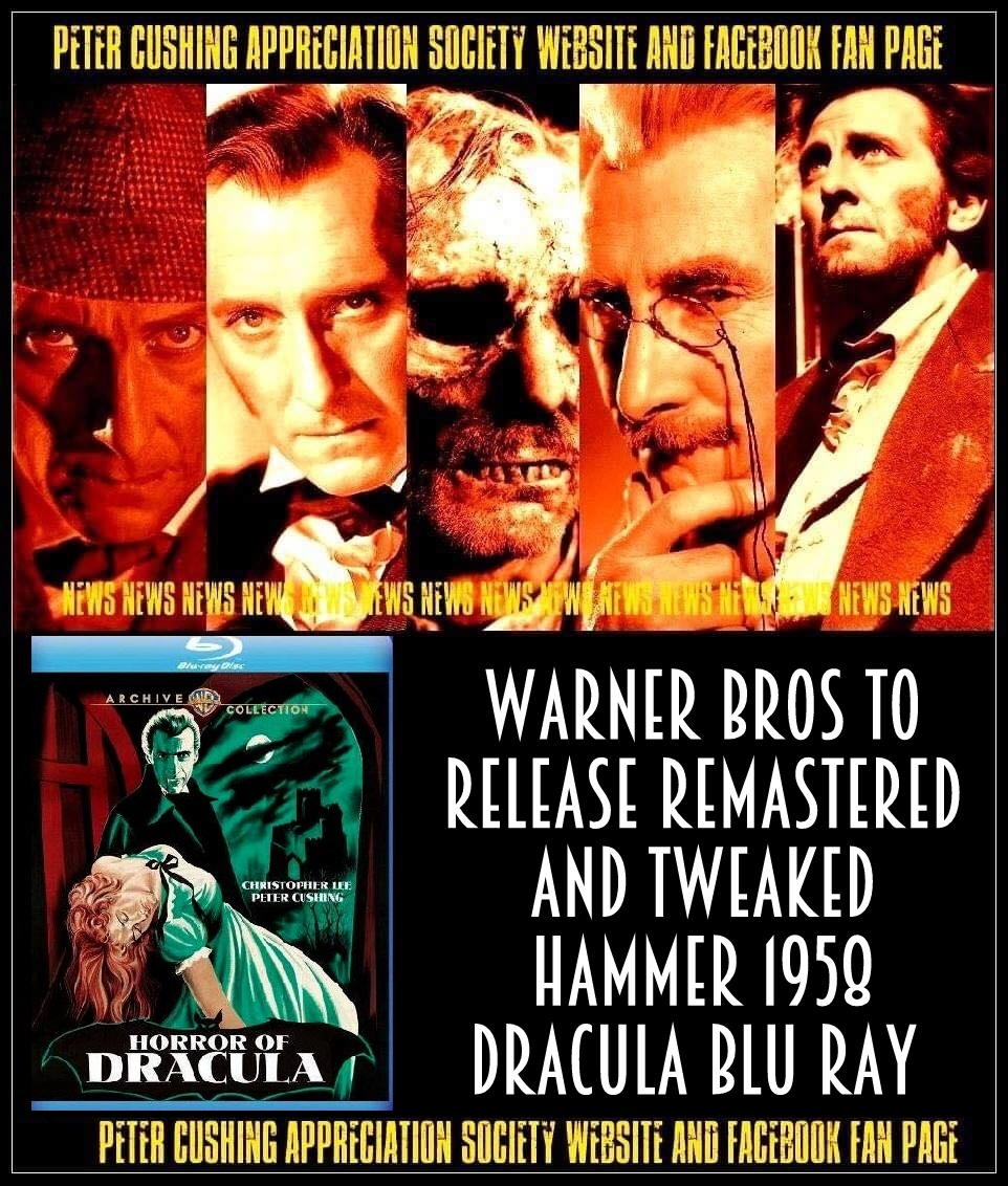 NEWS WARNER BROTHERS RELEASE CLASSIC HAMMER FILM
