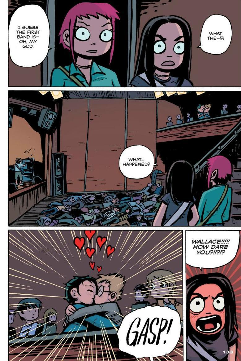 Read online Scott Pilgrim comic -  Issue #1 - 121