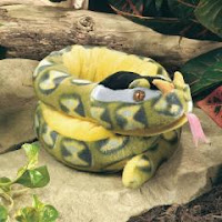 sharp noses viper snake plush stuffed animal toy
