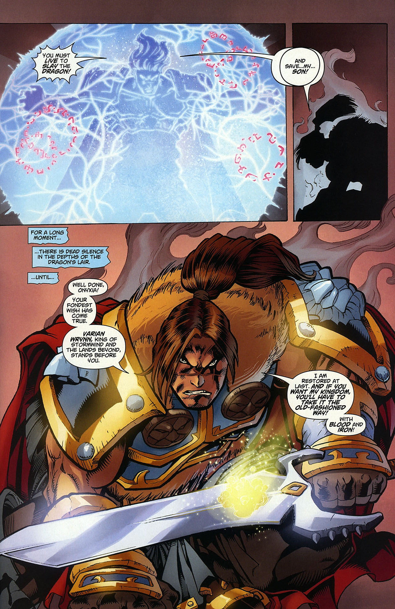 Read online World of Warcraft comic -  Issue #14 - 20
