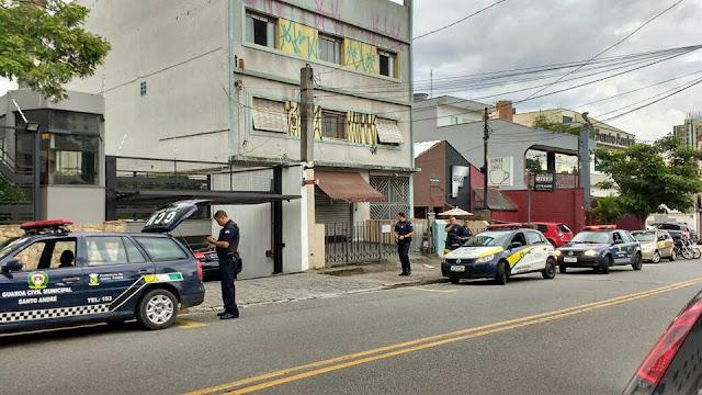 GCMs da 1º Inspetoria detém meliante por furto na Vila Bastos em Santo Andé