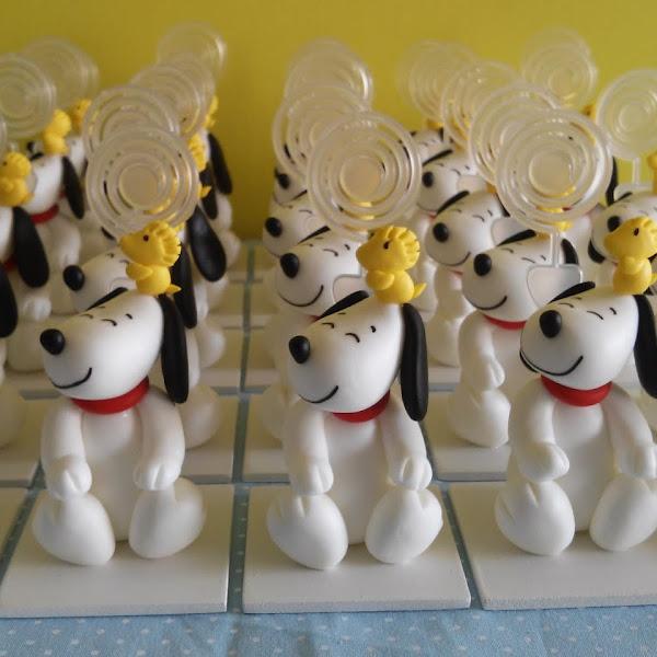 Lembrancinhas do Snoopy