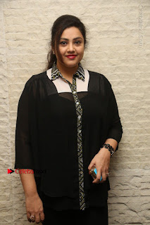 Tamil Actress Meena Latest Stills in Black Dress at TSR TV9 Awards Press Meet  0025.JPG